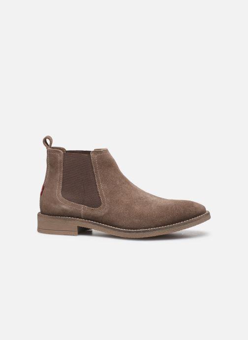 Bottines et boots Levi's Whitfield Chelsea Marron vue derrière