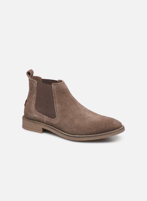Bottines et boots Levi's Whitfield Chelsea Marron vue détail/paire