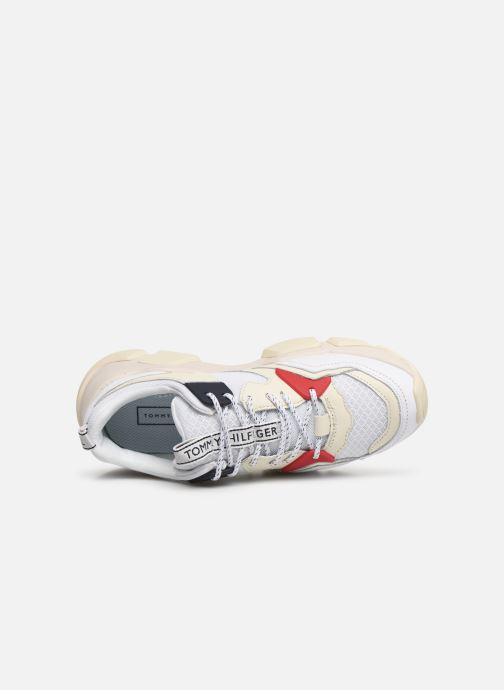 Sneakers Tommy Hilfiger WMN CHUNKY MIXED TEXTILE TRAINER Wit links