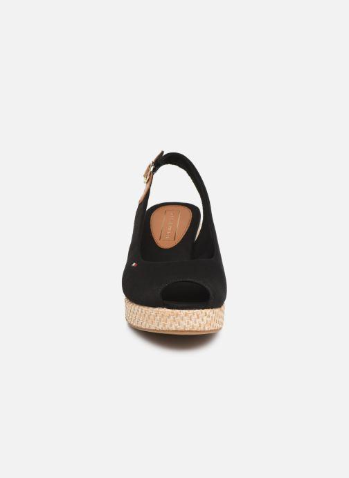 Sandales et nu-pieds Tommy Hilfiger ICONIC ELBA BASIC SLING BACK Noir vue portées chaussures