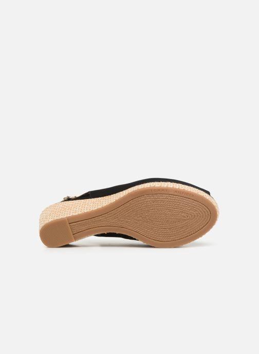 Sandales et nu-pieds Tommy Hilfiger ICONIC ELBA BASIC SLING BACK Noir vue haut