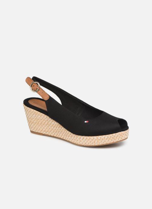 Sandales et nu-pieds Tommy Hilfiger ICONIC ELBA BASIC SLING BACK Noir vue détail/paire