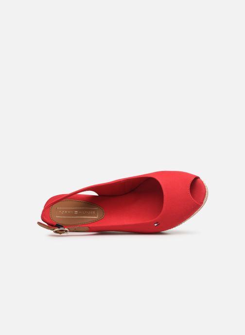 Sandales et nu-pieds Tommy Hilfiger ICONIC ELBA BASIC SLING BACK Rouge vue gauche