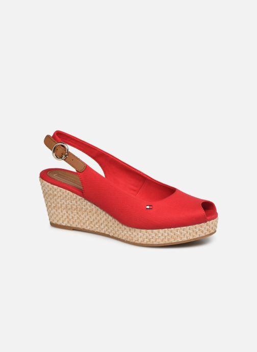 Sandales et nu-pieds Tommy Hilfiger ICONIC ELBA BASIC SLING BACK Rouge vue détail/paire