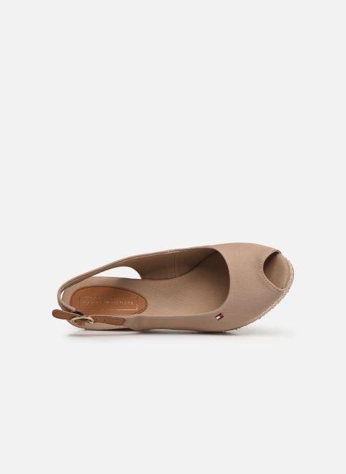 Sandales et nu-pieds Tommy Hilfiger ICONIC ELBA BASIC SLING BACK Beige vue gauche