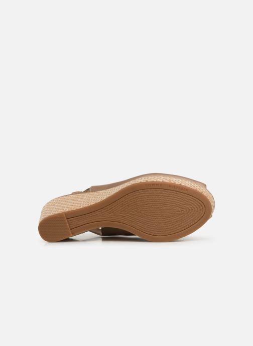 Sandales et nu-pieds Tommy Hilfiger ICONIC ELBA BASIC SLING BACK Beige vue haut