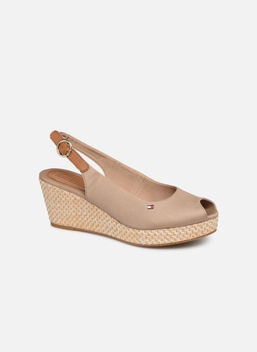 Sandales et nu-pieds Tommy Hilfiger ICONIC ELBA BASIC SLING BACK Beige vue détail/paire
