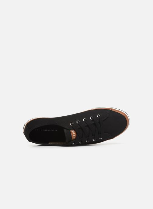 Sneakers Tommy Hilfiger ICONIC KESHA SNEAKER Zwart links