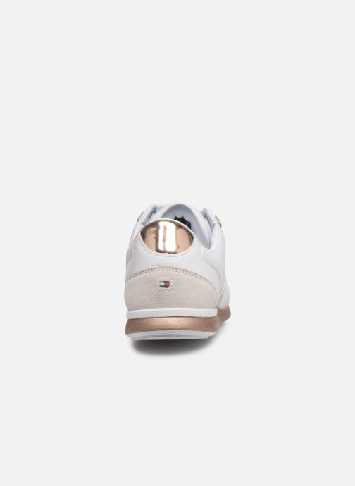 Baskets Tommy Hilfiger IRIDESCENT LIGHT SNEAKER Blanc vue droite