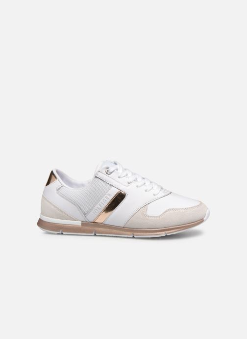 Baskets Tommy Hilfiger IRIDESCENT LIGHT SNEAKER Blanc vue derrière