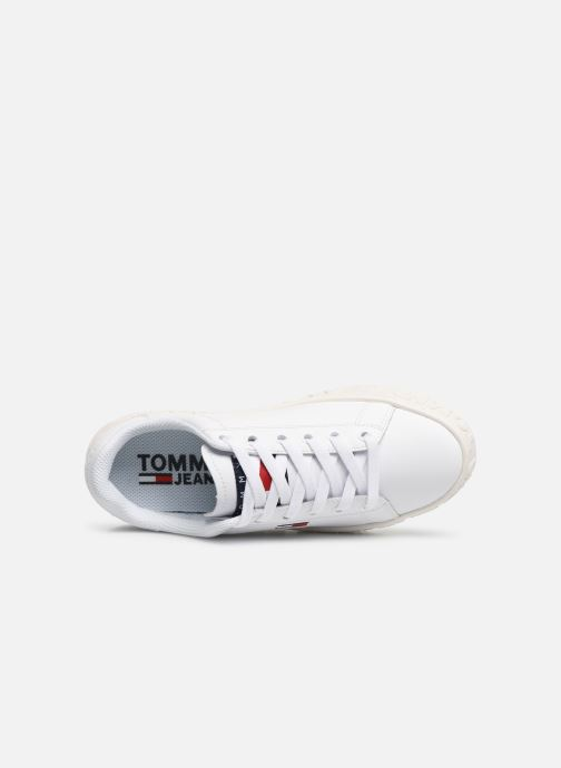 Baskets Tommy Hilfiger COOL TOMMY JEANS SNEAKER Blanc vue gauche