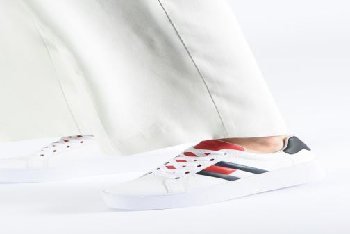 Trainers Tommy Hilfiger TOMMY JEANS ICON SNEAKER White view from underneath / model view