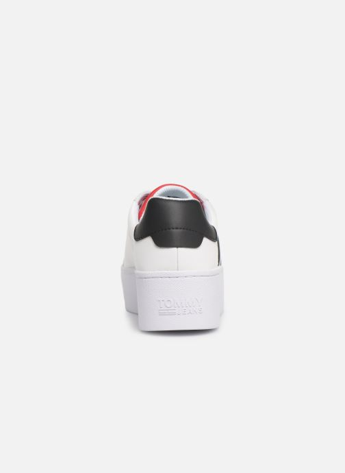 Baskets Tommy Hilfiger TOMMY JEANS ICON SNEAKER Blanc vue droite