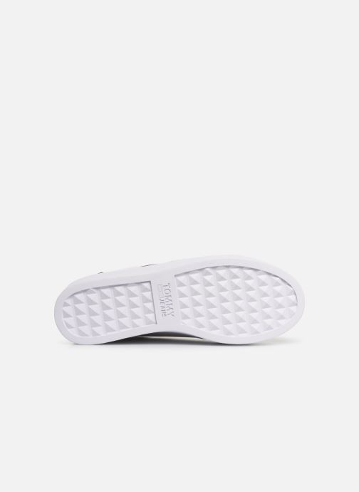 Baskets Tommy Hilfiger TOMMY JEANS ICON SNEAKER Blanc vue haut