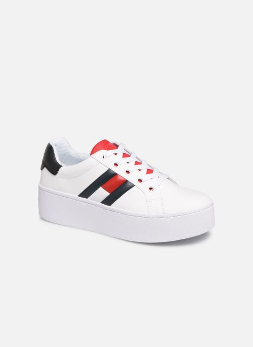 Trainers Tommy Hilfiger TOMMY JEANS ICON SNEAKER White detailed view/ Pair view