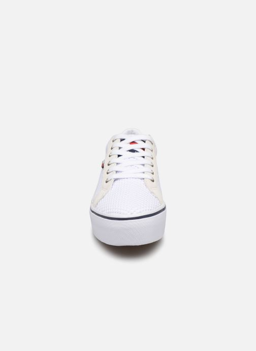 Sneakers Tommy Hilfiger WMN TEXTILE CITY SNEAKER Wit model