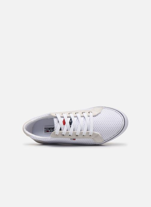Sneakers Tommy Hilfiger WMN TEXTILE CITY SNEAKER Wit links