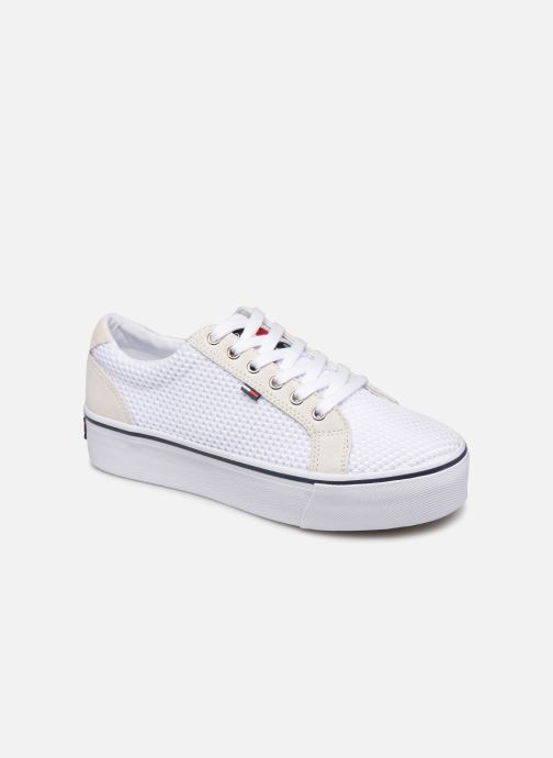 Sneakers Tommy Hilfiger WMN TEXTILE CITY SNEAKER Wit detail