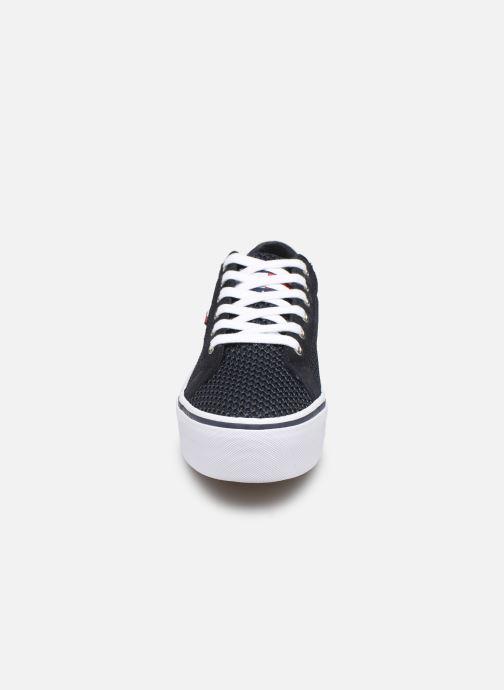 Sneakers Tommy Hilfiger WMN TEXTILE CITY SNEAKER Blauw model