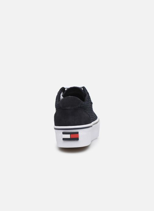Sneakers Tommy Hilfiger WMN TEXTILE CITY SNEAKER Blauw rechts