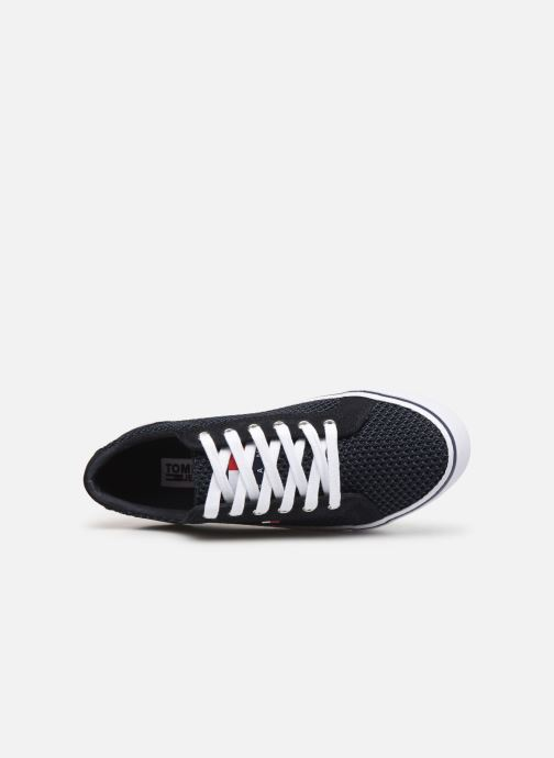 Sneakers Tommy Hilfiger WMN TEXTILE CITY SNEAKER Blauw links