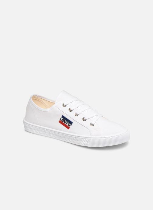 Deportivas Levi's Malibu Sportswear Blanco vista de detalle / par