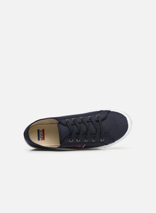 Sneaker Levi's Malibu Sportswear blau ansicht von links