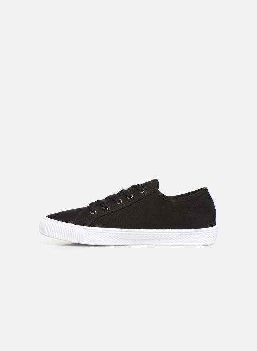 Sneaker Levi's Malibu Sportswear schwarz ansicht von vorne
