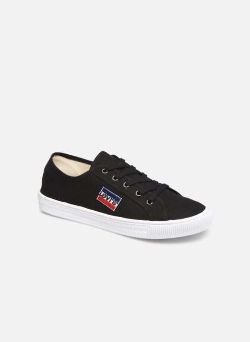 Sneakers Levi's Malibu Sportswear Sort detaljeret billede af skoene