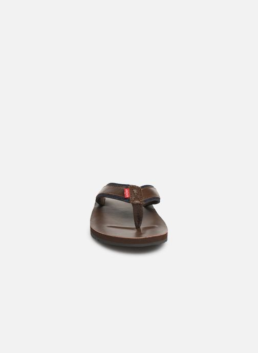 Flip flops Levi's Jurupa Brown model view