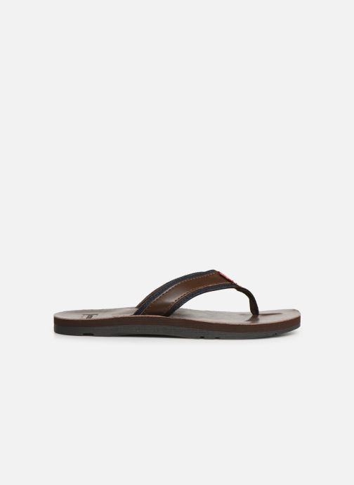 Flip flops Levi's Jurupa Brown back view