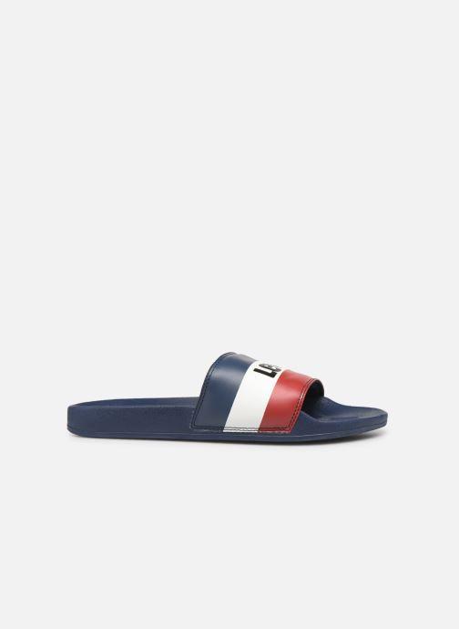 Sandalen Levi's June Sportswear Blauw achterkant