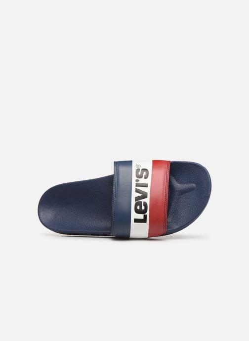 Sandalen Levi's June Sportswear Blauw links