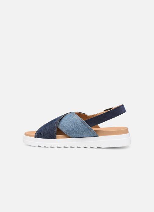 Sandales et nu-pieds Levi's Persia Bleu vue face