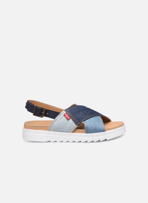 Sandales et nu-pieds Levi's Persia Bleu vue derrière