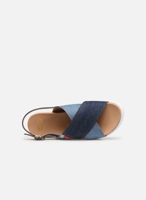 Sandales et nu-pieds Levi's Persia Bleu vue gauche