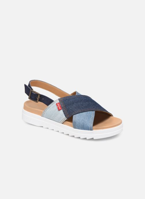 Sandales et nu-pieds Levi's Persia Bleu vue détail/paire