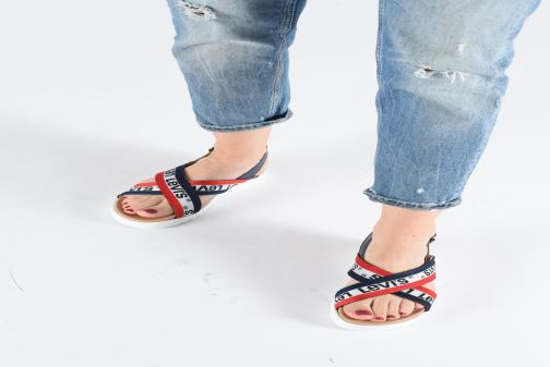 Sandals Levi's Persia Sportswear Multicolor view from underneath / model view