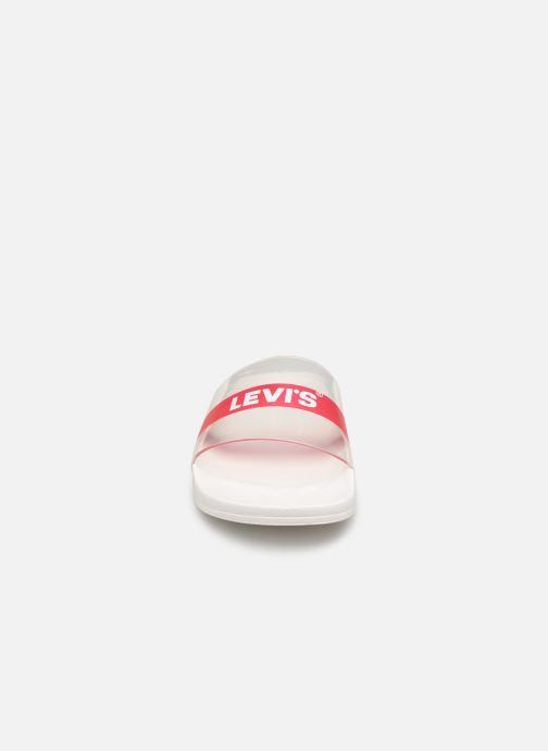 Mules et sabots Levi's June Baby Tab Incolore vue portées chaussures