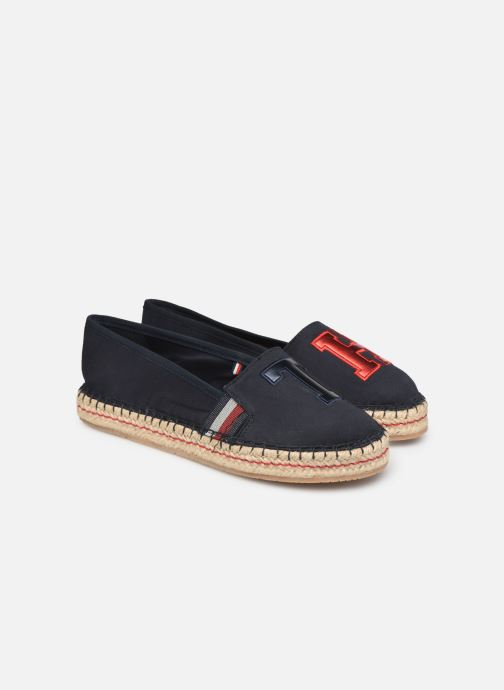 Espadrilles Tommy Hilfiger TH PATCH ESPADRILLE Blauw 3/4'