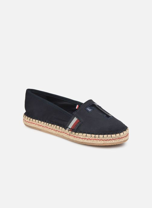 Espadrilles Tommy Hilfiger TH PATCH ESPADRILLE Blauw detail