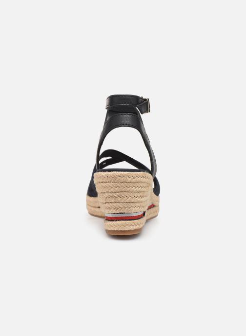 Sandales et nu-pieds Tommy Hilfiger ICONIC ELBA CORPORATE RIBBON Bleu vue droite