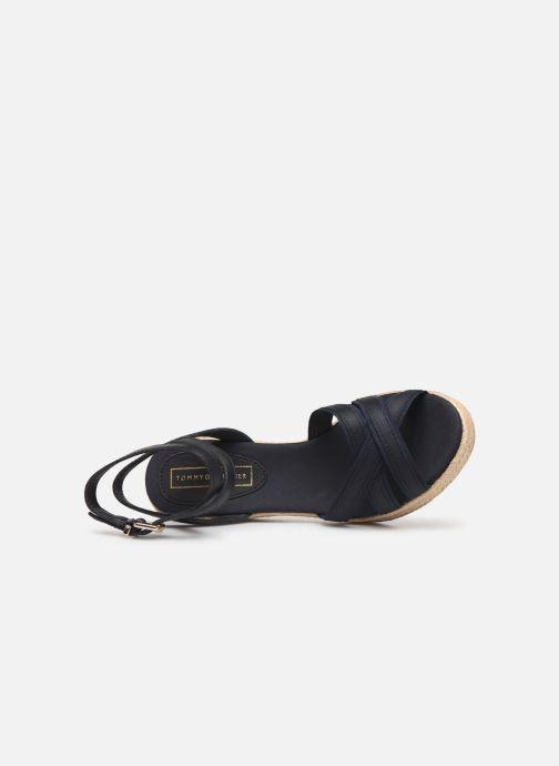 Sandales et nu-pieds Tommy Hilfiger ICONIC ELBA CORPORATE RIBBON Bleu vue gauche