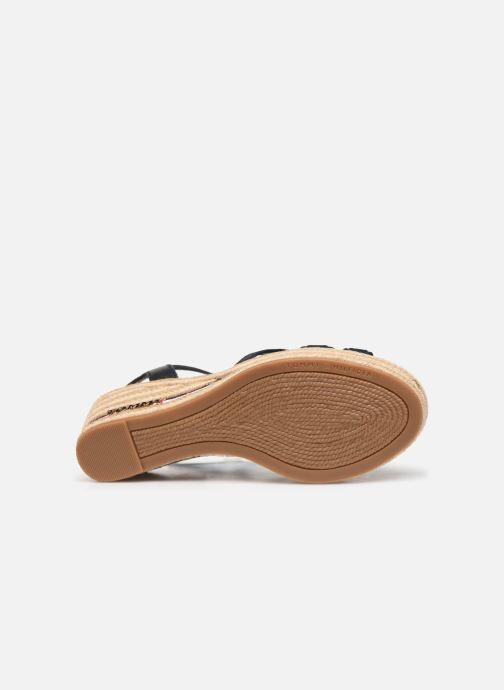 Sandales et nu-pieds Tommy Hilfiger ICONIC ELBA CORPORATE RIBBON Bleu vue haut