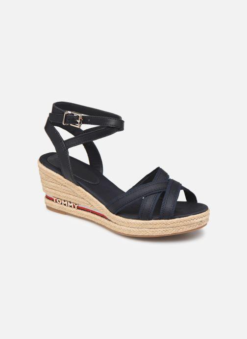 Sandales et nu-pieds Tommy Hilfiger ICONIC ELBA CORPORATE RIBBON Bleu vue détail/paire