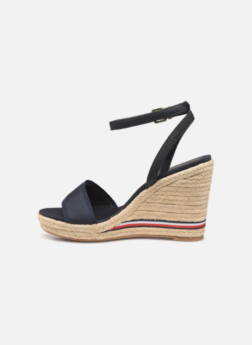 Sandales et nu-pieds Tommy Hilfiger ICONIC ELENA CORPORATE RIBBON Bleu vue face