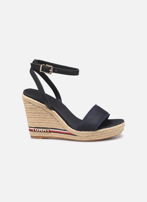 Sandales et nu-pieds Tommy Hilfiger ICONIC ELENA CORPORATE RIBBON Bleu vue derrière