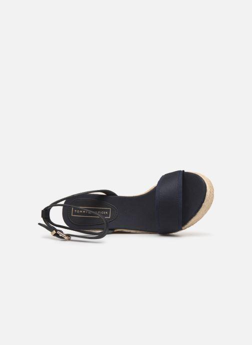 Sandales et nu-pieds Tommy Hilfiger ICONIC ELENA CORPORATE RIBBON Bleu vue gauche