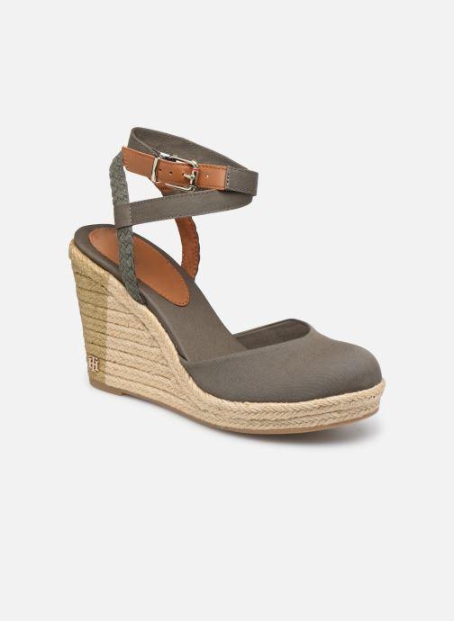 Sandali e scarpe aperte Tommy Hilfiger PRINTED CLOSED TOE WEDGE SANDAL Verde vedi dettaglio/paio