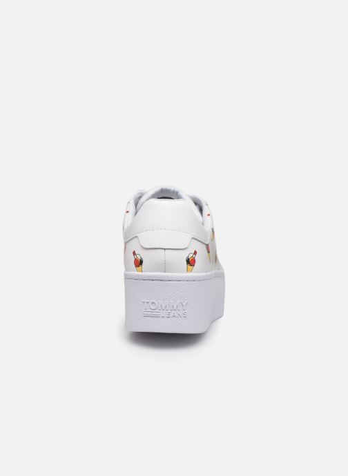 Deportivas Tommy Hilfiger SEASONAL ICON SNEAKER Blanco vista lateral derecha